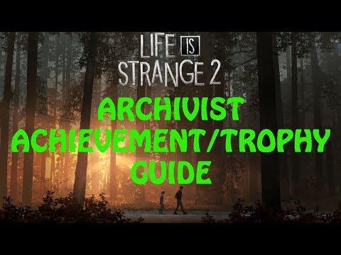 Life Is Strange 2   Episode 4: Faith   Archivist Achievement / Trophy Guide