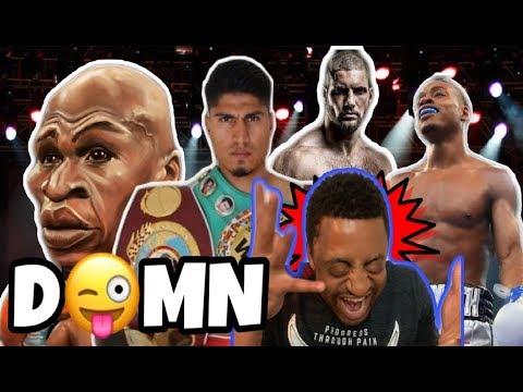 ShowBizz Talks Viktor Drago CREED 2 Floyd Mayweather BROKE and Errol Spence vs Mikey Garcia