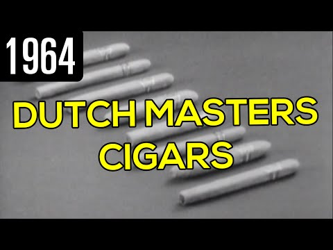 Dutch Masters Cigars Commercial (1964)