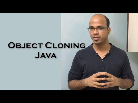 11.1 Object Cloning in Java Theory