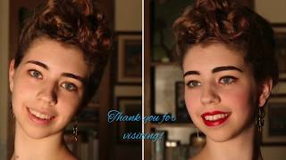Bésame Cosmetics Series: Full Face 1950s MakeOver