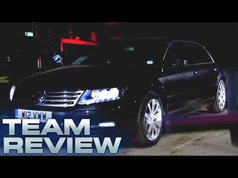 Volkswagen Phaeton W12 (Team Review) - Fifth Gear