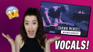Download Video VOCALS FOR DAYS! -Shawn Mendes MTV Unplugged Album Reaction MP3 3GP MP4