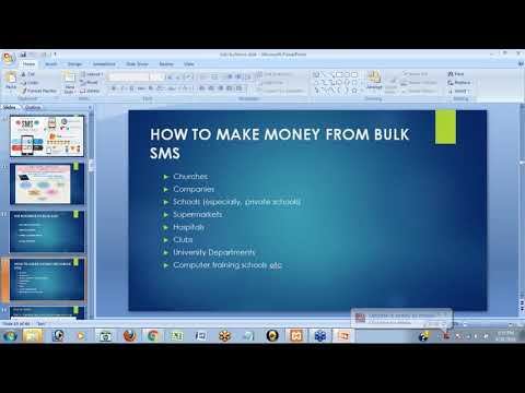 How to make millions from sms business (6 FIGURE BULK SMS BUSINESS) PART 1