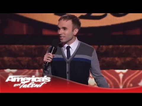 Taylor Williamson - Comedian Talks About His Awkward Family - America's Got Talent 2013