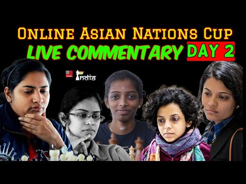 Asian Online Nations Cup 2020 Rounds 4-6 | Women section | Live Commentary