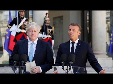 Μακρόν σε Τζόνσον: Δεν υπάρχει αρκετός χρόνος για νέα συμφωνία για το Brexit…