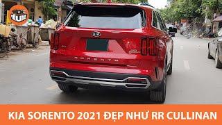 Kia Sorento 2021 lăn bánh trên đường phố Hà Nội, đuôi như Rolls Royce Cullinan