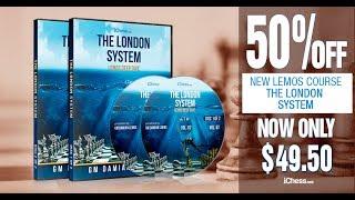 50% off GM Lemos' brand new, 9 hour London System repertoire training course!