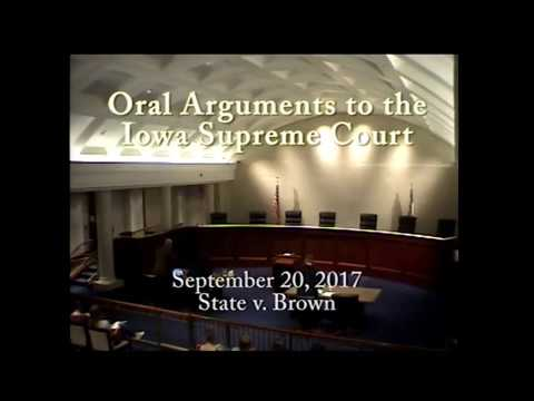 Image of 16–0563 State of Iowa v. Danielle Brown