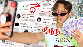 Video I FAKED being  RICH on TIKTOK for 24 HOURS and THIS is what happened... MP3, 3GP, MP4, WEBM, AVI, FLV Juni 2019