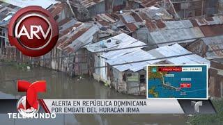 Alerta en República Dominicana por huracán Irma | Al Rojo Vivo