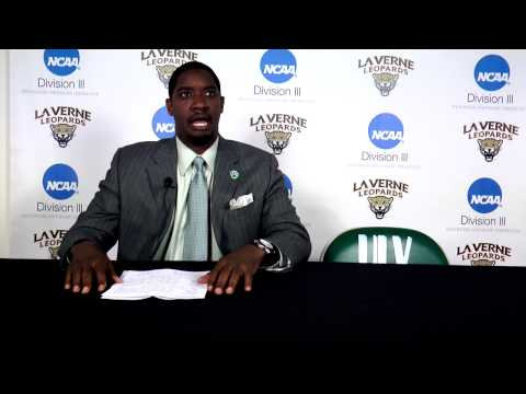 Postgame interview with head coach Richard Reed (Jan. 15, 2015)