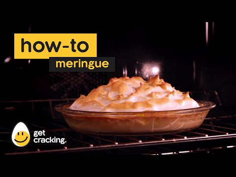A lemon pie isn't complete without a hearty dollop of meringue.