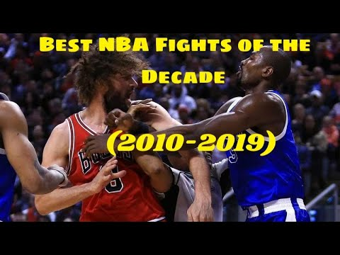 Best NBA Fights of the Decade (2010-2019)