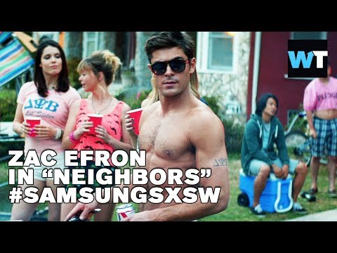 Zac Efron, Dave Franco & Christopher Mintz-Plasse  - Neighbors | #SamsungSXSW