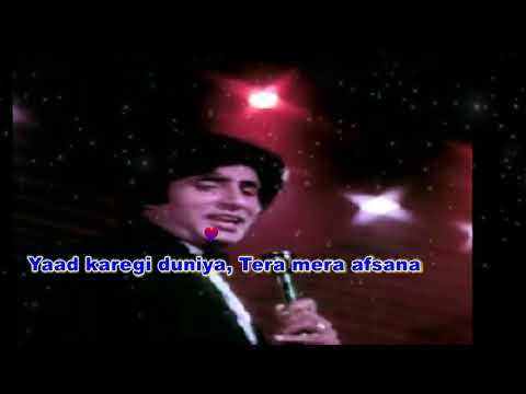 Video Tere jaisa yaar kahan karaoke download in MP3, 3GP, MP4, WEBM, AVI, FLV January 2017