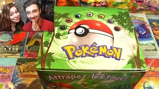 Video # 500 000 Abonnés # Ouverture d'un Display Pokémon JUNGLE de 1999 ! MON ENFANCE !! MP3, 3GP, MP4, WEBM, AVI, FLV Mei 2017
