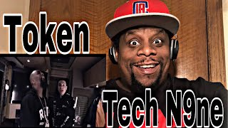 Token - YouTube Rapper feat. Tech N9ne (Official Video) Reaction 🔥