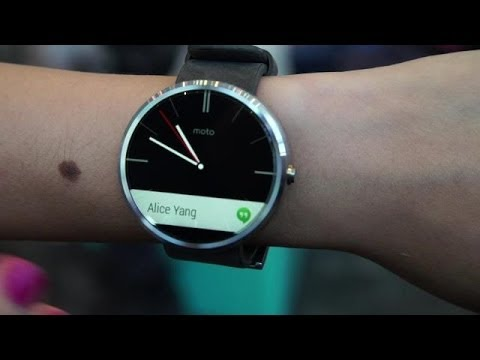 Moto 360 Smartwatch | Hands On