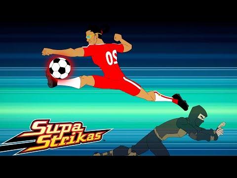 S4 E1 Field of Vision   SupaStrikas Soccer kids cartoons   Super Cool Football Animation   Anime