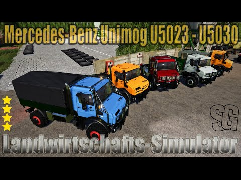 Mercedes-Benz Unimog U5023 v2.0