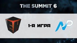 [Без коммент] EHOME vs NP #1 (bo3) | The Summit 6, 18.11.16