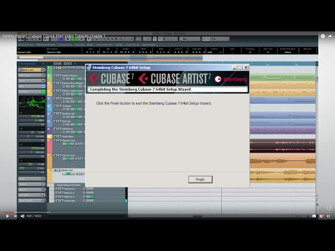 Cubase 7 Quick Start Video Tutorials – Chapter 1 – Getting started