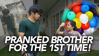 Video Water Balloon Prank On Brother | Ranz and Niana MP3, 3GP, MP4, WEBM, AVI, FLV September 2018