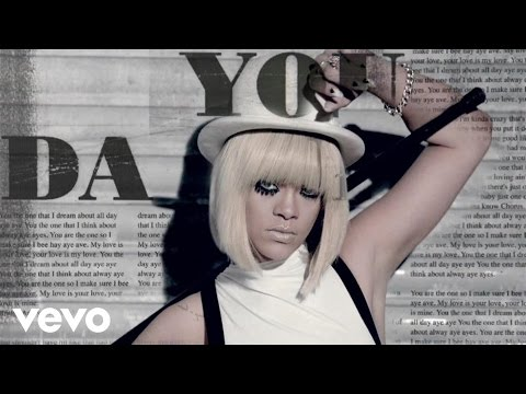 da - Music video by Rihanna performing You Da One (Explicit). © 2011 The Island Def Jam Music Group Itunes: http://www.smarturl.it/TTT?IQid=youtube Amazon: http:/...