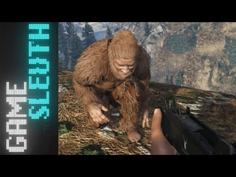 Game Sleuth: The Search for Bigfoot in Grand Theft Auto V