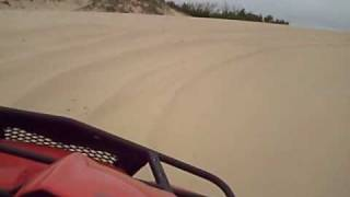 Bridport Australia  city photos gallery : Suzuki King Quad 750 AXi - Bridport sand dunes Tasmania Australia