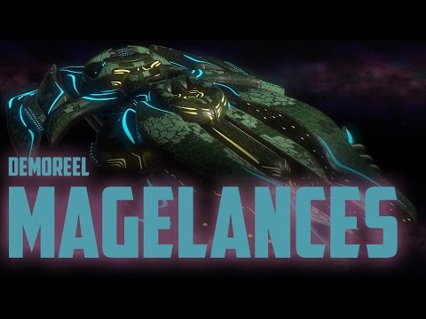 Polaris Sector. Magelances Race modeling reel 2015