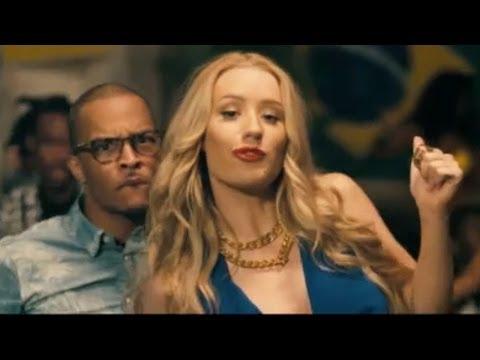 "TI & Iggy Azalea Drop BOOTY FILLED ""No Mediocre"" Music Video!"
