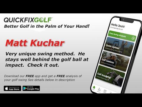 Golf Swing Analysis – Matt Kuchar