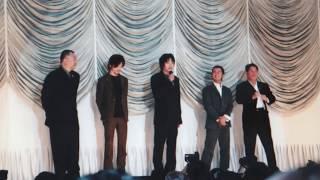映画「御法度」(1999)舞台挨拶 Gohatto (Taboo) #大島渚 #松田龍平 #ビートたけし