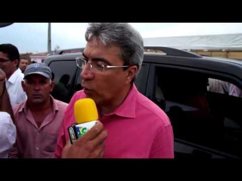 Governador de Sergipe Marcelo Déda em entrevista sobre a RODOVIA Umbaúba/Indiaroba