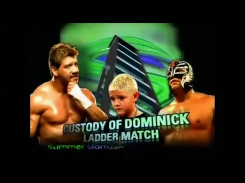 Eddie Gurrero vs Rey Mysterio Custody of Dominick [See you again by Wiz Khalifa]