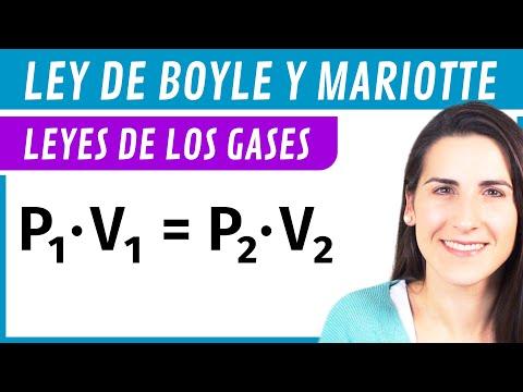 Ley de BOYLE y Mariotte 💨 Leyes de los GASES