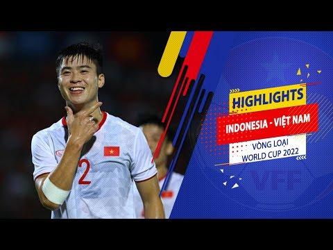 Индонезия - Вьетнам 1:3. Видеообзор матча 15.10.2019. Видео голов и опасных моментов игры