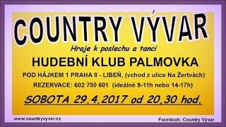 Video Videopozvánka - Hudební klub Palmovka, 29.04.2017