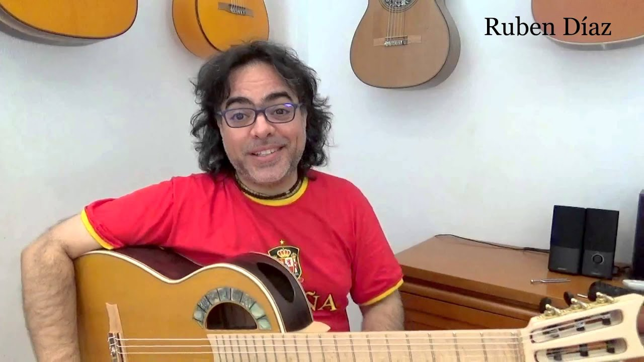Renewing didactic videos / Ruben Diaz Contemporary flamenco guitar teacher (Skype method) Q & A