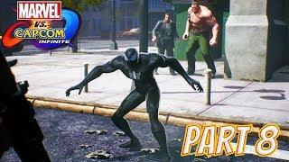 Marvel vs Capcom Infinite Story Part 8: Symbiote Attack (Symbiote Spider-Man!)