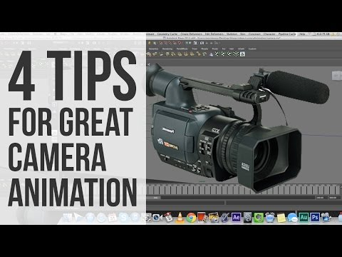4 Tips for Great Camera Animation (for Maya or any other 3D software)