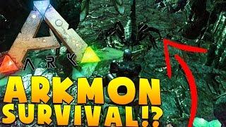 SCARIEST CAVE IN ALL OF ARK - ARK SURVIVAL EVOLVED POKEMON MOD (ARKMON) #15