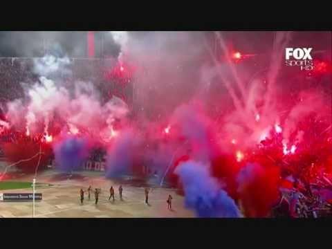 U. de Chile vs Chivas (Salida - Libertadores 2010) - Los de Abajo - Universidad de Chile - La U