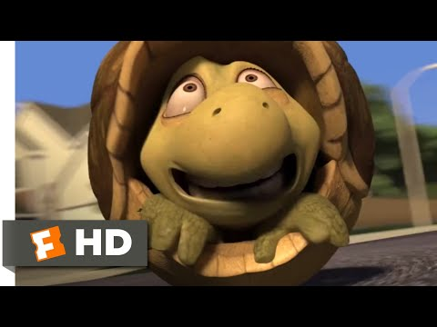 Over the Hedge (2006) - Turtle Pinball Scene (2/10) | Movieclips