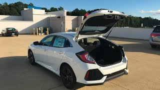 7. New 2017 Honda Civic EX Hatchback!