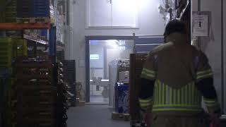 Veel rook bij brand in bakkerij