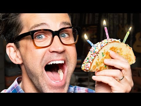 Birthday Cake Taco Taste Test